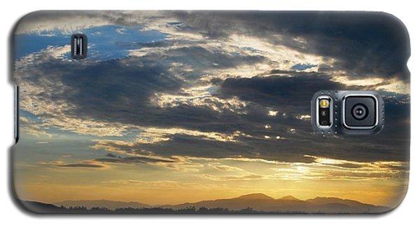 Galaxy S5 Case featuring the photograph Swirl Sky Landscape by Matt Harang