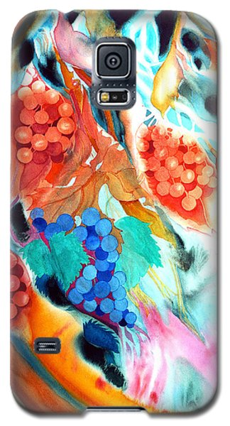 Swirling Grapes Galaxy S5 Case