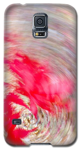 Swirling Japanese Maple Leaves Galaxy S5 Case