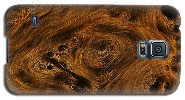 Swirling Galaxy S5 Case