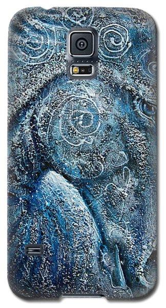 Swirling Spiraling Snow Galaxy S5 Case