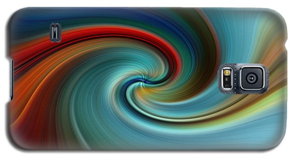 Galaxy S5 Case featuring the photograph Swirling by Trena Mara