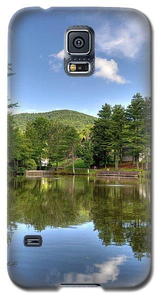 Swiss Mountain Lake Galaxy S5 Case