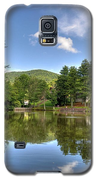 Swiss Mountain Lake Galaxy S5 Case