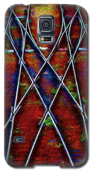Center Diamond Galaxy S5 Case