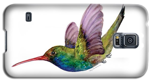 Swooping Broad Billed Hummingbird Galaxy S5 Case