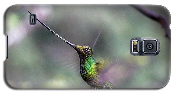 Sword-billed Hummingbird Hovering Ecuador Galaxy S5 Case