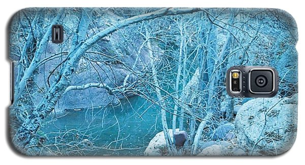 Sycamores And River Galaxy S5 Case by Kerri Mortenson