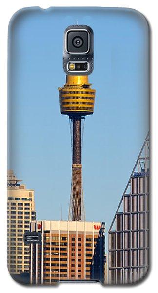 Sydney City Skyline With Sydney Tower Galaxy S5 Case