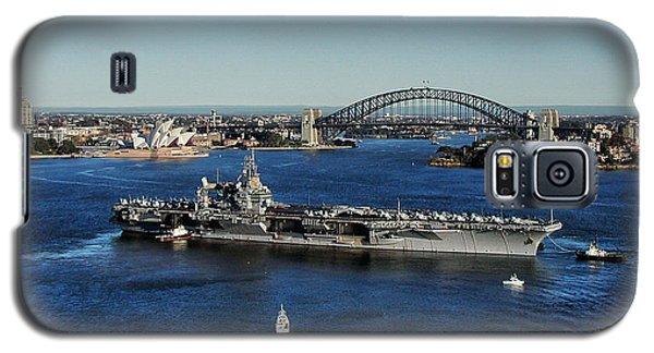Galaxy S5 Case featuring the photograph Sydney Harbor by John Swartz
