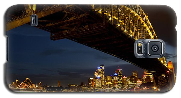 Sydney Harbour Bridge Galaxy S5 Case by Miroslava Jurcik