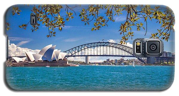 Sydney Harbour Skyline 2 Galaxy S5 Case