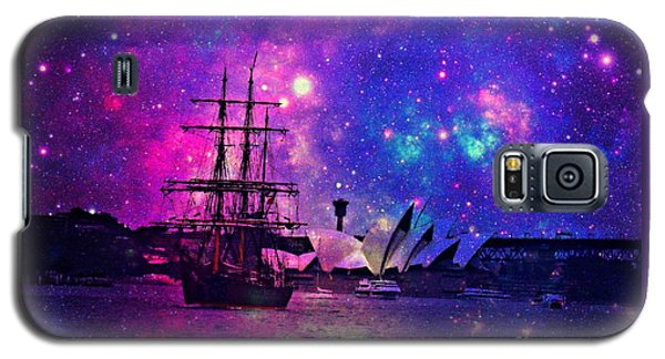 Sydney Harbour Through Time And Space Galaxy S5 Case
