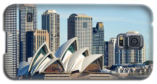 Sydney Opera House And Sydney Harbor - A Classic View Galaxy S5 Case