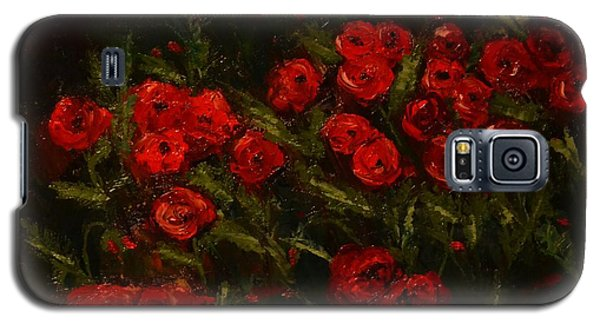 Symphony In Coquelicot Galaxy S5 Case