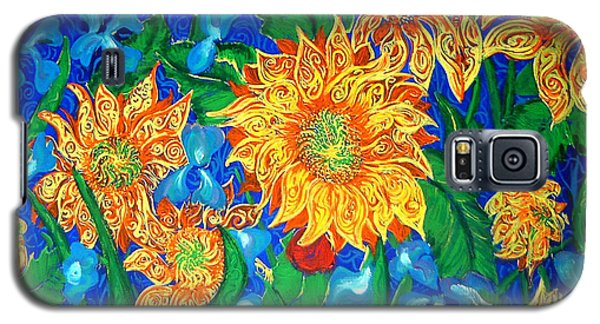 Symphony Of Sunflowers Galaxy S5 Case