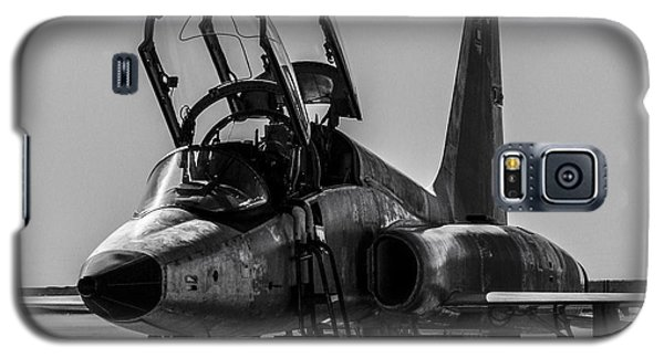 T-38 Talon Black And White Galaxy S5 Case