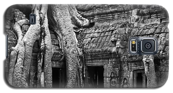 Ta Prohm Roots And Stone 01 Galaxy S5 Case