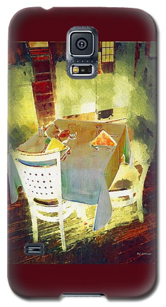 Table At The Fauve Cafe Galaxy S5 Case
