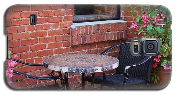 Galaxy S5 Case featuring the photograph Table For Two by Cynthia Guinn