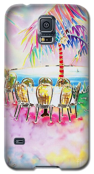 Tables On The Beach Galaxy S5 Case