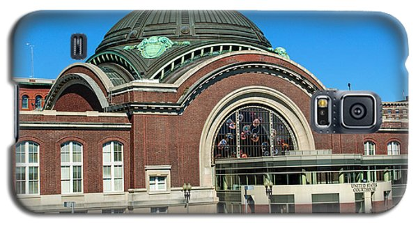 Tacoma Court House At Union Station Galaxy S5 Case by Tikvah's Hope