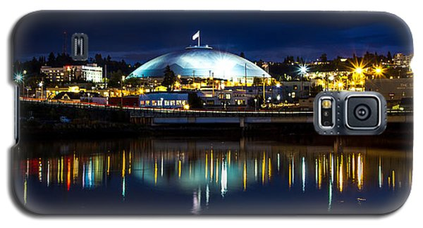 Galaxy S5 Case featuring the photograph Tacoma Dome Reflections by Rob Green