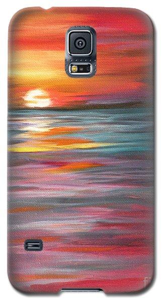 Tahitian Sunset Galaxy S5 Case