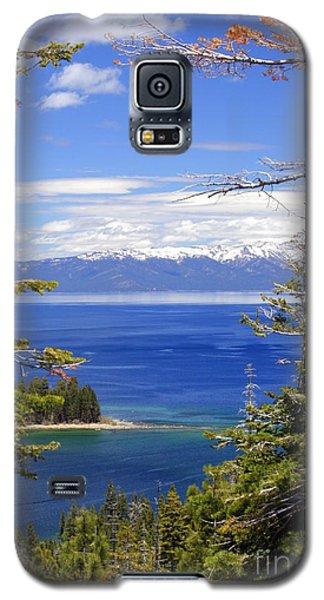 Tahoe Blue Galaxy S5 Case