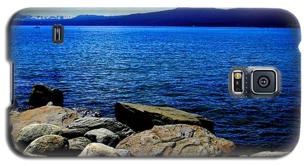 Galaxy S5 Case featuring the photograph Tahoe Magic by Bobbee Rickard