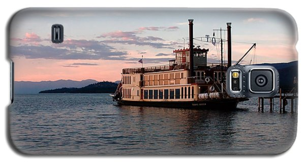 Tahoe Queen Riverboat On Lake Tahoe California Galaxy S5 Case by Paul Topp