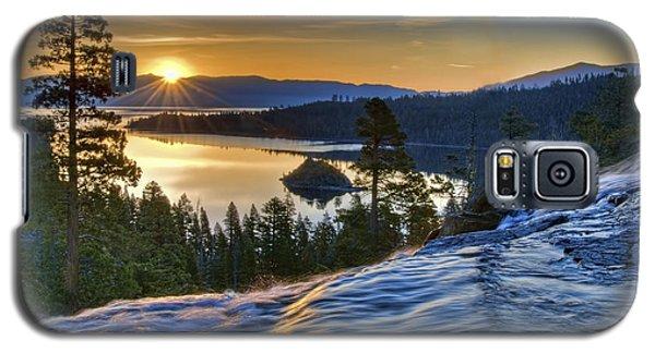 Tahoe Sunrise Galaxy S5 Case