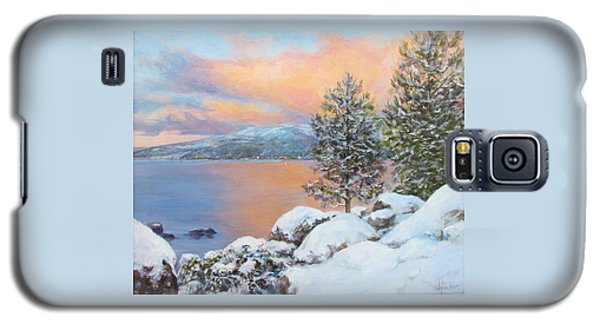 Tahoe Winter Colors Galaxy S5 Case