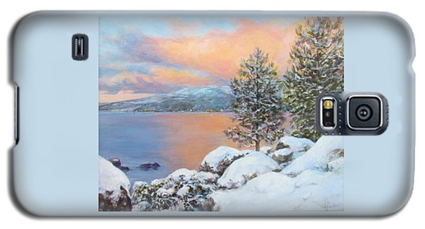 Tahoe Winter Colors Galaxy S5 Case