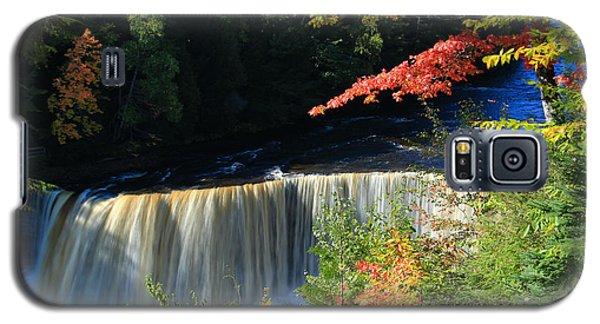 Tahquamenon Falls Autumn Galaxy S5 Case by Rachel Cohen