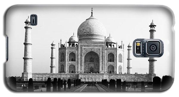 Taj Mahal Bw Galaxy S5 Case