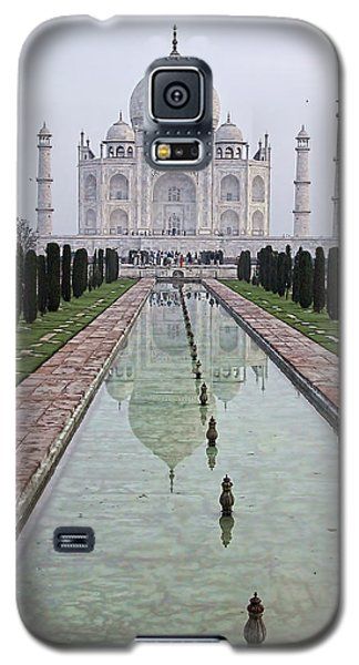 Taj Mahal Early Morning Galaxy S5 Case by John Hansen