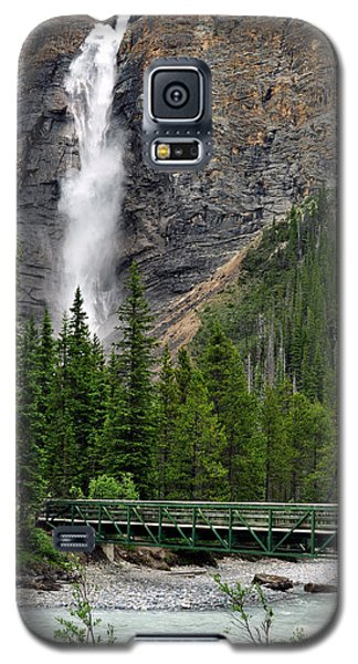 Takakkaw Falls Galaxy S5 Case by Lisa Phillips