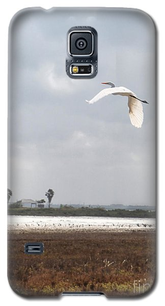 Galaxy S5 Case featuring the photograph Take Off by Erika Weber