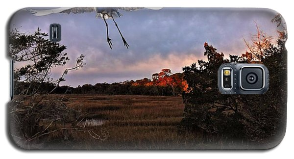 Galaxy S5 Case featuring the photograph Taking Flight by Laura Ragland