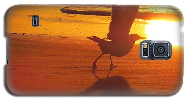Galaxy S5 Case featuring the photograph Taking Flight by Nikki McInnes