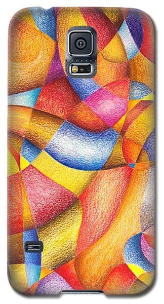 Galaxy S5 Case featuring the drawing Talkin' 'bout Free And Easy by Rick Ahlvers