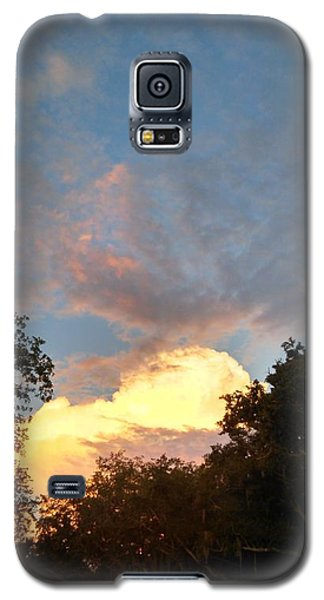 Galaxy S5 Case featuring the photograph Talking Clouds by Jean Marie Maggi