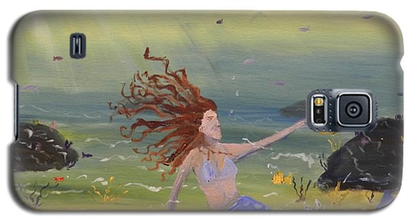 Talking To The Fishes Galaxy S5 Case