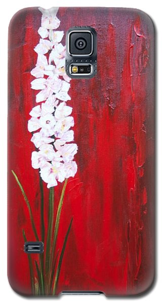 Tall Flower Galaxy S5 Case