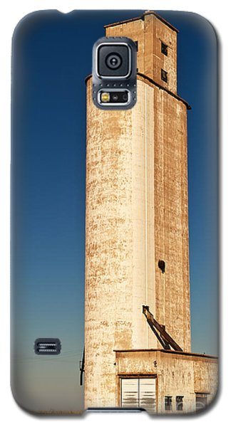 Galaxy S5 Case featuring the photograph Tall Grain Elevator by Sue Smith