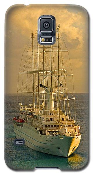 Tall Ship Cruise Galaxy S5 Case by Dennis Cox WorldViews