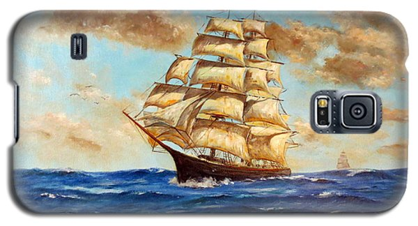 Tall Ship On The South Sea Galaxy S5 Case