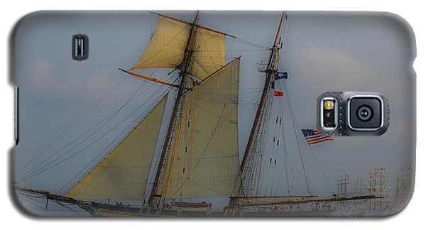 Tall Ships In The Lowcountry Galaxy S5 Case by Dale Powell