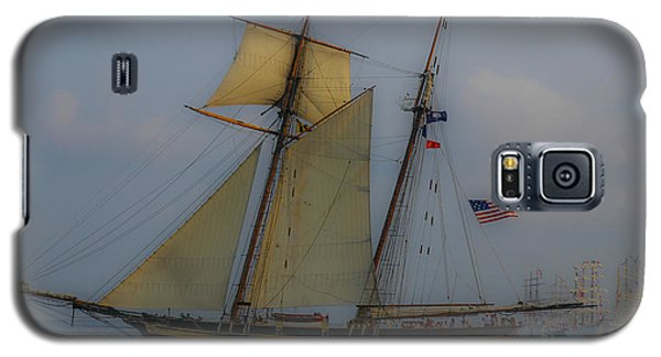 Galaxy S5 Case featuring the photograph Tall Ships by Dale Powell